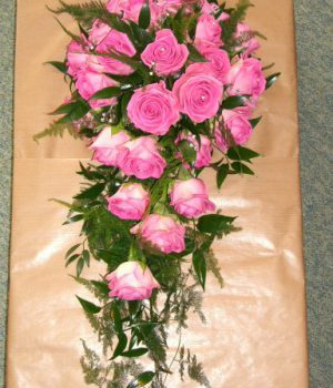 25 Pink Roses