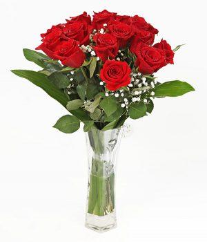 Simple Red in Vase
